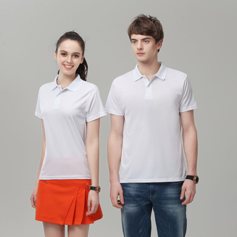 Wholesale Custom Logo Print Quick Dry Polo Shirt