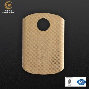 Custom engraved metal name plates,Logo for lighter | CHINA MARK