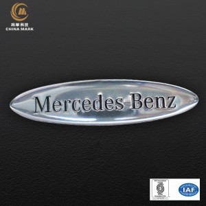 Metal engraved name plates,Nameplate for car | CHINA MARK