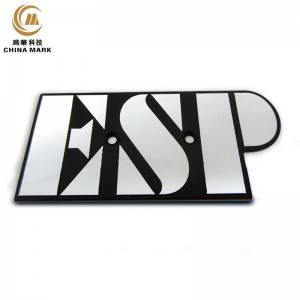 Aluminum name plates,Engraved Metal Plate | WEIHUA