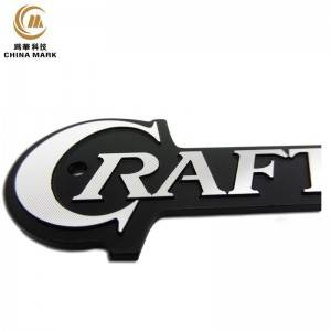 Custom aluminum nameplates,High polished diamond cutting nameplate | WEIHUA