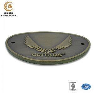 Custom metal name badges,Diecasting plating nameplate | WEIHUA