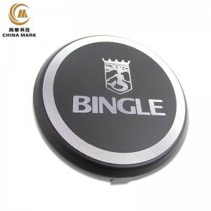 Name plate in metal,High polished diamond cutting sound nameplate