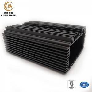 aluminium extrusie, 5G basisstation koellichaam |  CHINA MARK