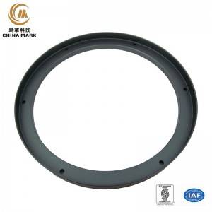 Custom aluminium extrusion,Radar fitting-Ball cover pressure plate | WEIHUA