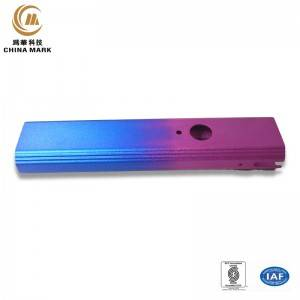 Custom extrusions aluminum,Electronic cigarette housing | WEIHUA