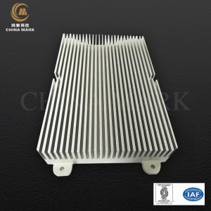 Aluminium heatsinks extrusie, TCL eindversterker heatsink |  CHINA MARK