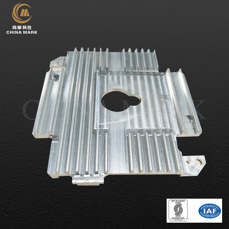 Wholesale Price Machined Aluminum Extrusion - Aluminum extrusion heat sink,LED light heatsink | CHINA MARK – Weihua