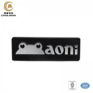 Metal Logo Placke, Toun Nummerplack |  CHINA MARK