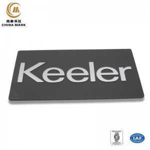 Metal name badges,Electroformed nameplate | WEIHUA