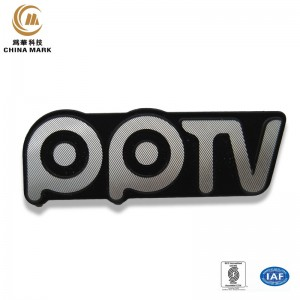 Personalized metal name tags,Diamond cutting nameplate | WEIHUA