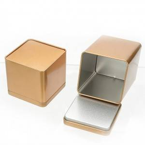 Gift Packaging Box Small Tin Container