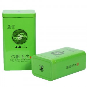 Tinplate box 8.5x6x13.5cm, 9.7×7.2x17cm Tea Mint Food Grade Round Empty Metal Tea Tin Container