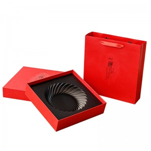 Rectangle Shape paper box 27cm x 27cm x 7cmPaper Tube Packaging Paper Container Cardboard Tube