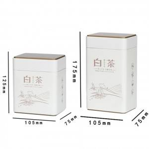 Metal Tin Packaging Box Food Grade Olive Oil Cans 1 Liter Tin Can
