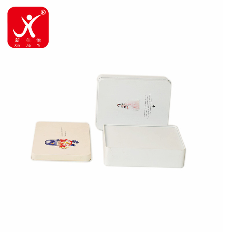 Low MOQ for Cheap Tin Boxes - Rectangle shape tin box  16cm x 11.7cm x 4.1cm – Xin Jia Yi