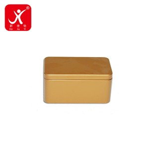 Well-designed Coffee Containers Wholesale - Rectangle shape tin box 14.5cm x 8.5cm x 7cm – Xin Jia Yi
