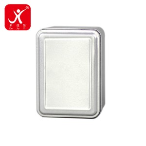 Rectangle shape tin box 11cm x 8cm x 6.3cm