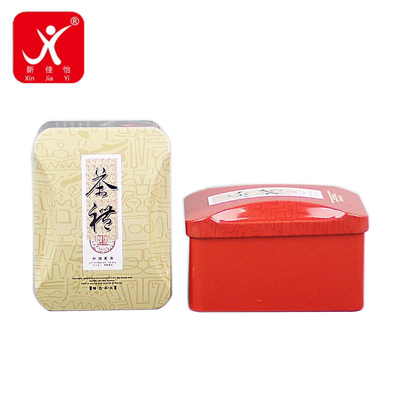 Factory Supply Tin Can Packaging - Rectangle shape tin box 11cm x 8cm x 6.7cm – Xin Jia Yi