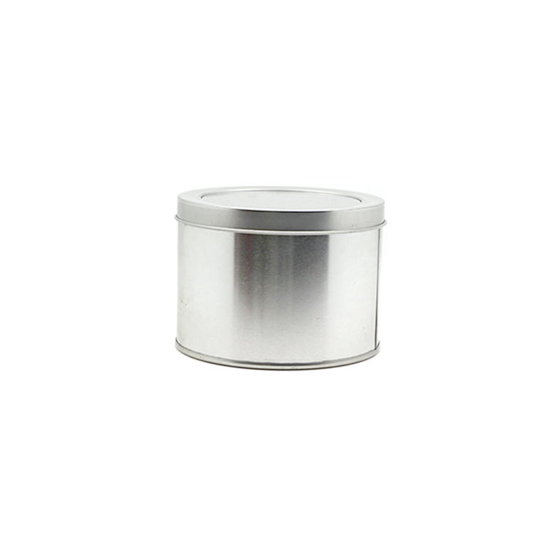 Low price for Gold Tin Can - Round shape tin box 11.5cm x 8.6cm – Xin Jia Yi