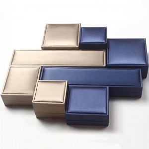 Plastic Products box  Women  2 Layers Velvet Inside Jewelry Organizer Earring Bangle Bracelet Necklace And Rings Jewelry Box