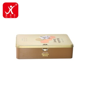 Factory Price Carousel Tin Box - Rectangle shape tin box 32cm x 22cm x 8cm – Xin Jia Yi