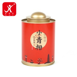 Round shape tin box 13.5cm x 20cm