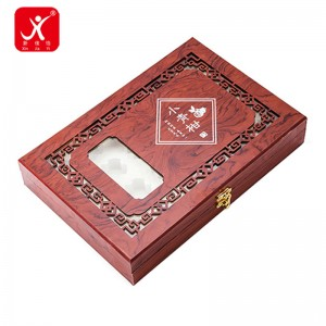 Lacquerward wooden box