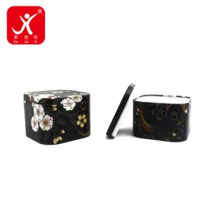 professional factory for Tin Containers - Rectangle shape tin box 7.5cm x 7.5cm x 5.8cm – Xin Jia Yi