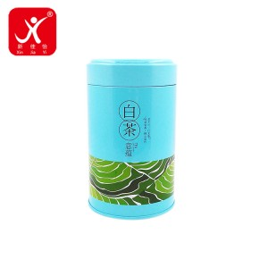 Factory wholesale Metal Gallon Containers - Round shape tin box 9.9cm x 19cm 8.3cm x 16cm – Xin Jia Yi