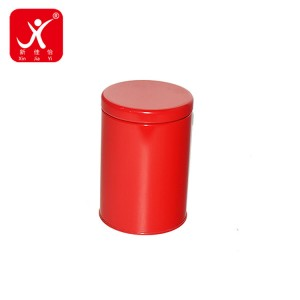 Free sample for Round Metal Cans - Round shape tin box 9.9cm x 14.4cm – Xin Jia Yi