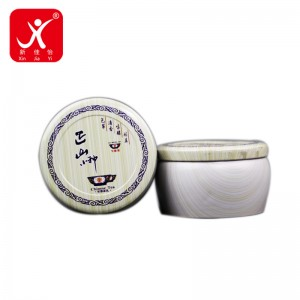 100% Original Factory Metal Tin Gift Box - Irregular shape tin box 10.8cm x 6.8cm – Xin Jia Yi