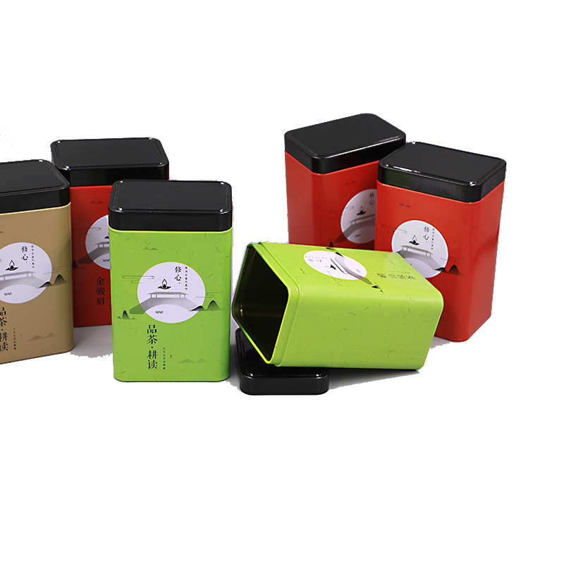 Tinplate gift box 10.5cm*7.5cm*17.5cm 8.8cm*6.7cm*13.6cm  Cosmetic Jar 2oz Metal Tin Empty Tin Can Featured Image