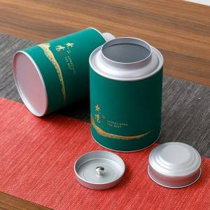 Rectangle Shape paper box 32* 24*14cm D600 Potable Aluminum Jar Container Storage Box Small Cylinder Sealed Cans Coffee Tea Tin Cylinder Sealed Cans