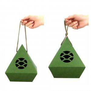 paper box 16x16x19cm, 20x20x24.5cm  Eco Friendly Material Round Cylinder Kraft Paper Cardboard Tube