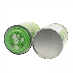 Tinplate gift box 9.9CM X 16.8CM 60ml 2oz Empty Smooth Edge Round Tin Can