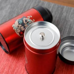 Tinplate gift box 8.3*17.8cm Glass Jar Empty Round Food Aluminum Can With Eoe Or Lug Cap Tin Cans