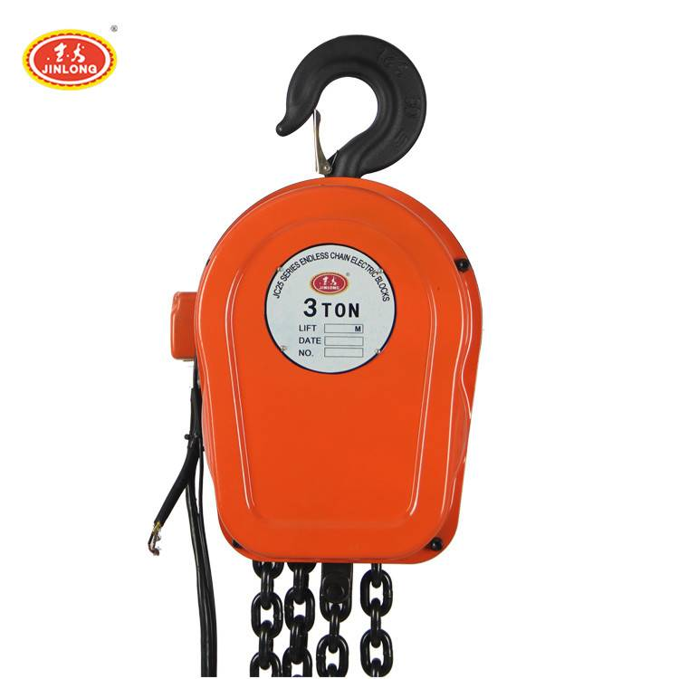 2 tonne 1 5 10 ton micro electric chain hoist with monorail traveling beam trolley