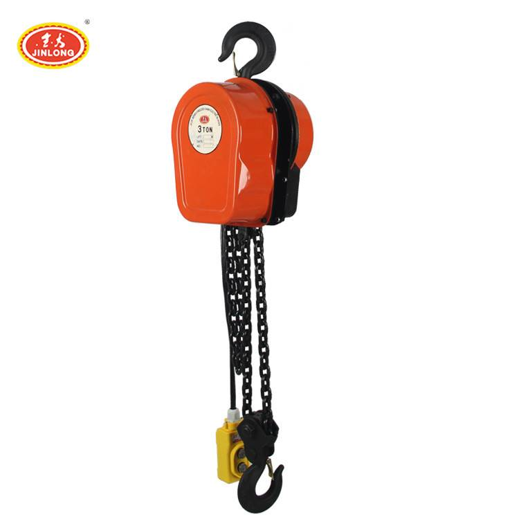multifunctional endless chain block motor 5 ton electric chain hoist with dual hook