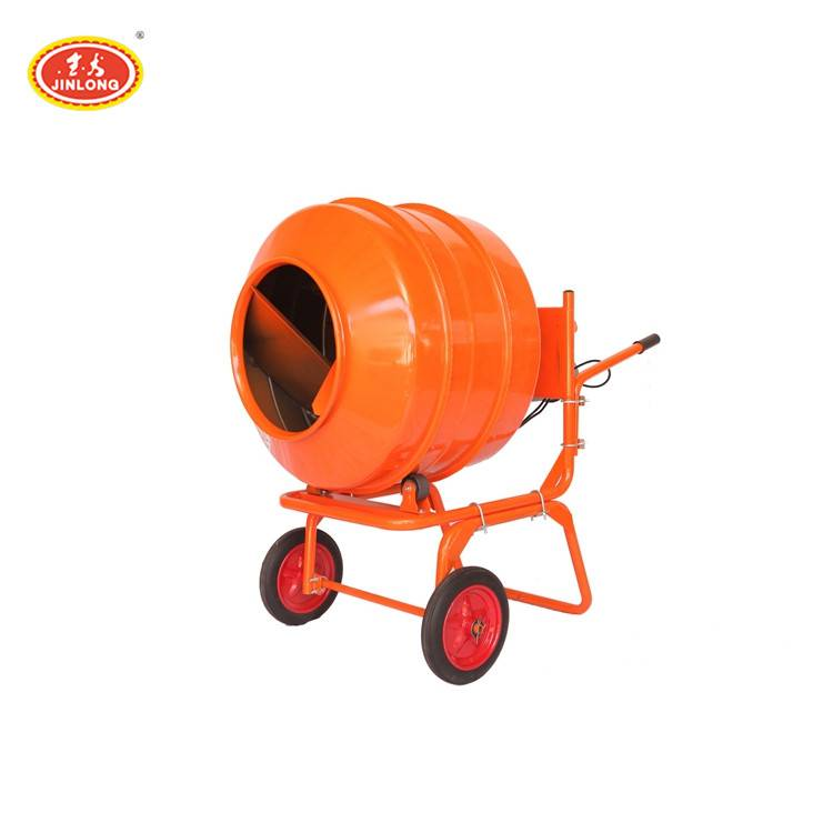 small size portable hand one bag rotating reverse drum cement concrete mixer