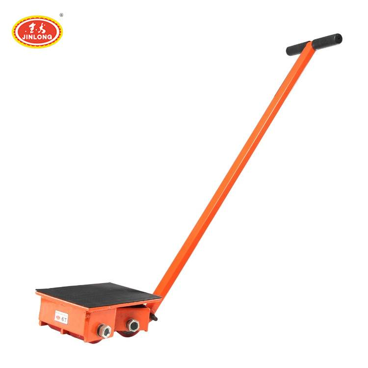 6-24t Transport CRB series small cargo trolley moving skate roller trolley for Machinery Moving