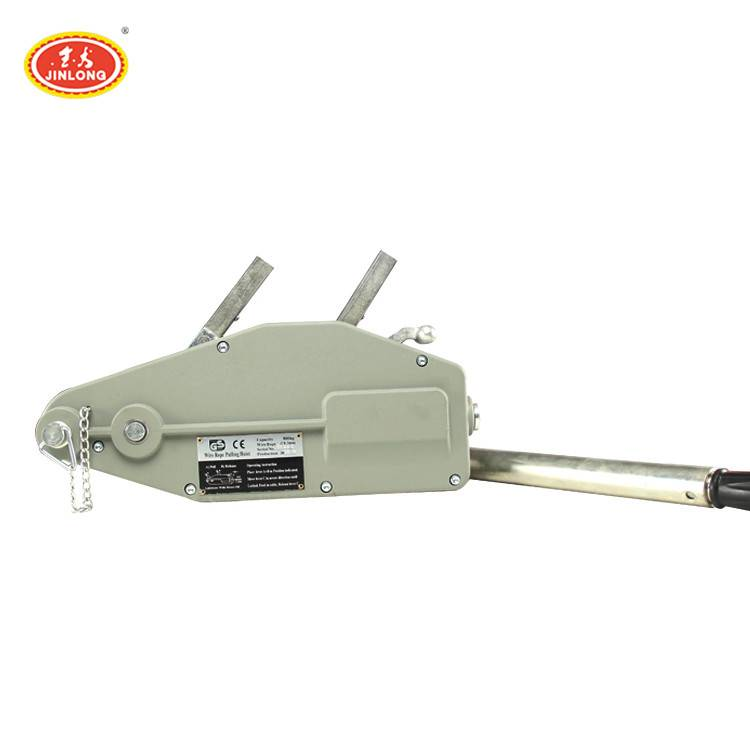 high quality mini 0.8ton 1.6ton 3.2ton manual  lever chain block tirfor hand operated winch