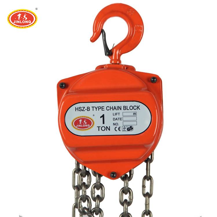 1 ton 3 ton 5 ton Harga Hand Chain Block Hoist with CE Certificate
