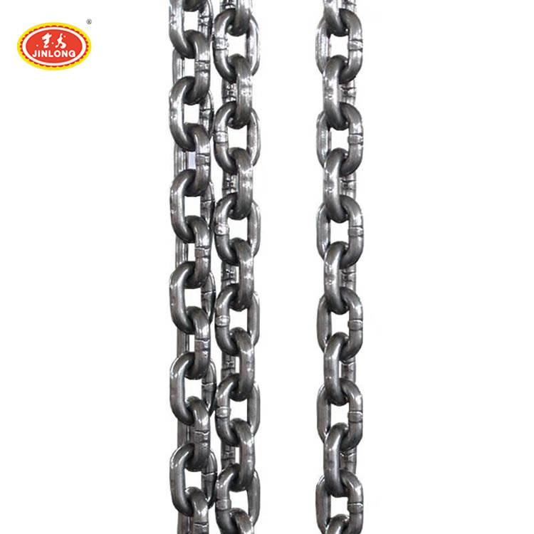 heavy duty weight 5mm 6mm 10mm g80 galvanized alloy steel load link lifting chain