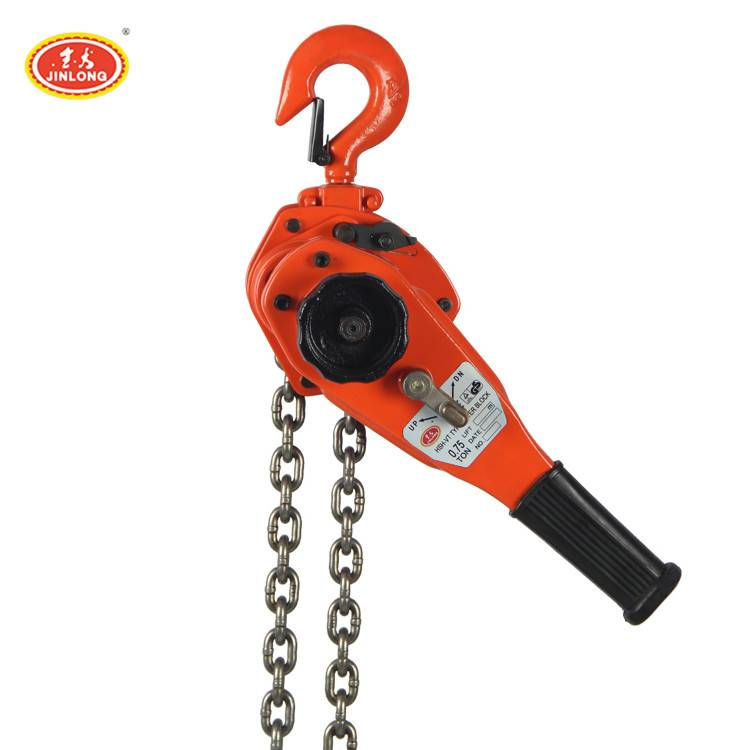 mini 1 1.5 2 5 ton hand crank lever hoist ratchet hand rope pulley lever chain block