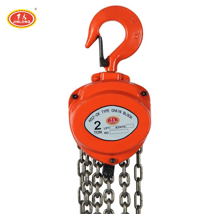 High quality new 2 ton hand Lift chain block used for construction