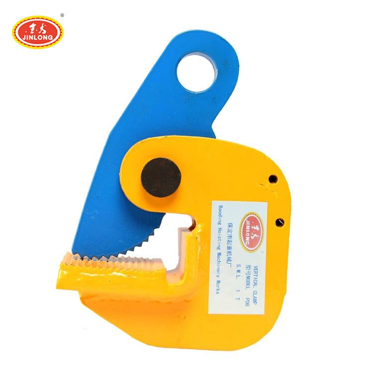 high quality PDB type vertical round steel pipe and plate lifting clamp