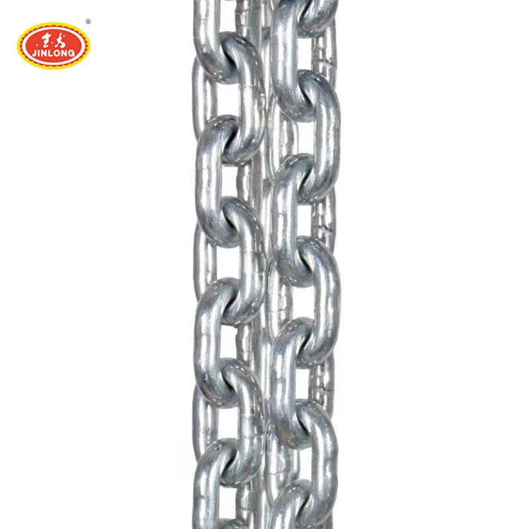 high tensile metal galvanized steel link chain for spanish turkish africa