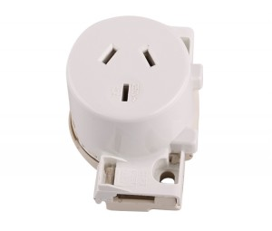 3pin 250V 10A quick connection socket Australia standard SAA approval