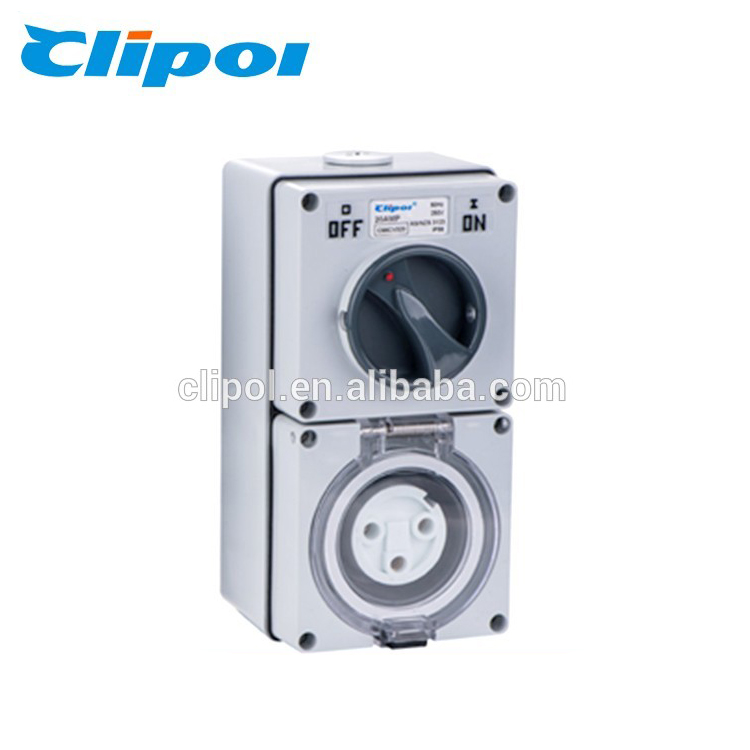 Industry switch socket waterproof male plug socket